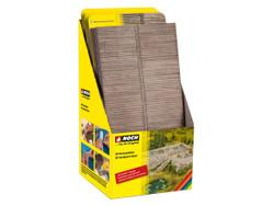Noch 3D Cardboard Sheet Retailer Display Pack HO Gauge 56600