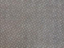 Noch Modern Pavement 3D Cardboard Sheet 25x12.5cm HO Gauge 56722