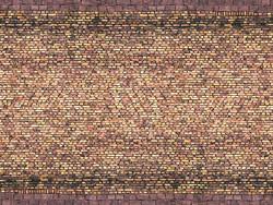 Noch Yellow Brick 3D Cardboard Sheet 25x12.5cm HO Gauge 56605