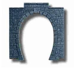 Noch Single Track Granite Tunnel Portal (2) N Gauge 34400