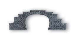 Noch Double Track Granite Tunnel Portal (2) N Gauge 34410