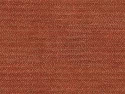 Noch Red Brick 3D Cardboard Sheet 25x12.5cm HO Gauge 56610