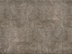 Noch Plain Grey Tile 3D Cardboard Sheet 25x12.5cm HO Gauge 56691