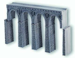 Noch Quarrystone Viaduct Hard Foam 19.8x2.6x13.6cm N Gauge 34860