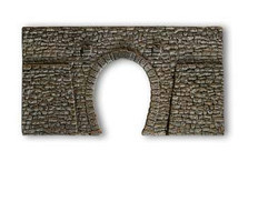 Noch Single Track Tunnel Portal Quarrystone Hard Foam N Gauge 34937