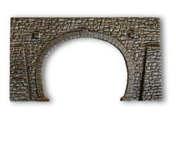 Noch Double Track Tunnel Portal Quarrystone Hard Foam N Gauge 34938