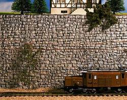 Noch Wall Quarrystone Hard Foam 16x9cm N Gauge 34940
