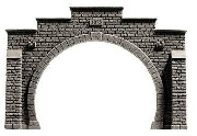 Noch Double Track Hard Foam Tunnel Portal N Gauge 34852