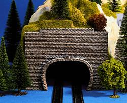 Noch Double Track Scale Transition Hard Foam Tunnel Portal (2) N Gauge 34800