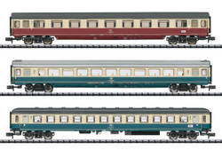Minitrix DB IC611 Gutenburg Express Coach Set (3) IV N Gauge 15460