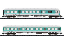 Minitrix DB Commuter Coach Set (2) V (DCC-Fitted) N Gauge 15467