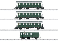Trix DB Thunderbox Coach Set (4) III (DCC-Fitted) HO Gauge 23456