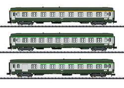 Minitrix SNCF Orient Express Coach Set (3) IV N Gauge 15372