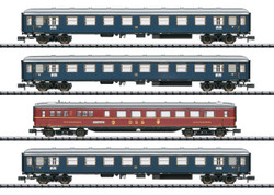 Minitrix DB Merkur Express Coach Set (4) III N Gauge 15132