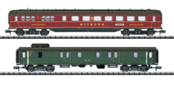 Minitrix DRB Berlin-Hamburg Coach Set 1 (2) II N Gauge 15801