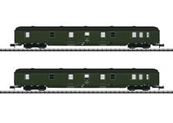 Minitrix DR GEX Postal Coach Set (2) V N Gauge 15311
