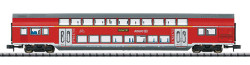 Minitrix DBAG DABpza785.1 1st/2nd Class Bi-Level Coach VI N Gauge 15412