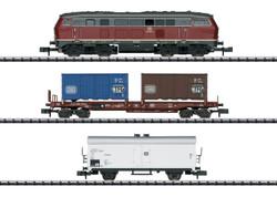 Minitrix my Hobby DB BR216 Diesel Freight Starter Set N Gauge 11146