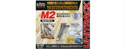 Kato Unitrack (BM2) Oval/Passing Loop Track Set w/Controller N Gauge 20-853