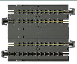 Kato Unitrack (WS124S) Slab Dual Straight Track 124mm 2pcs N Gauge 20-025