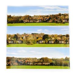Gaugemaster Village Small Photo Backscene (1372x152mm) N Gauge GM754