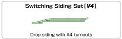 Kato Unitrack (V4) Passing Loop Track Set N Gauge 20-863