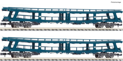 Fleischmann DB Christoforus-Express Car Transporter Set (2) IV N Gauge 881913