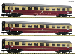 Fleischmann DB Christoforus-Express Coach Set (3) IV N Gauge 881911