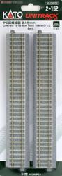 Kato Unitrack (S246PC) CS Straight Track 246mm 4pcs HO Gauge 2-152