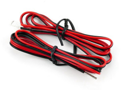 Gaugemaster Red/Black Twinned Wire 50cm (2) Multi Scale GM08RB
