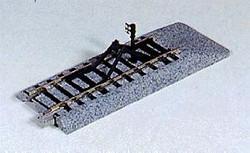 Kato Unitrack (S109B) Straight Track with Buffer Stop 2pcs HO Gauge 2-170