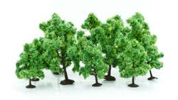 Gaugemaster Deciduous Trees (10) Multi Scale GM260