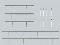 Faller Crash Barriers Building Kit III N Gauge 272452