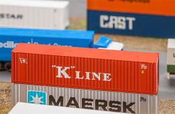 Faller K Line 40' Hi Cube Container V N Gauge 272820