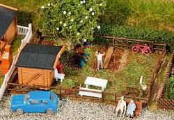 Faller Allotment Garden Set (3) IV N Gauge 272550