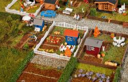 Faller Allotment Garden Set (3) III N Gauge 272551