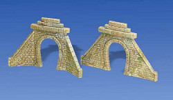 Faller Single Track Stone Tunnel Portals (2) I N Gauge 272575