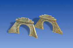 Faller Double Track Stone Tunnel Portals (2) I N Gauge 272576