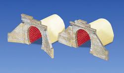 Faller Single Track Brick Tunnel Portals (2) I N Gauge 272578