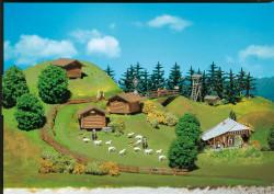 Faller Lodge with Raised Hide Building Kit II N Gauge 272532