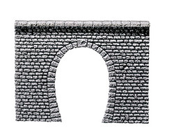 Faller Corbel Stone Single Track Tunnel Portal I N Gauge 272630