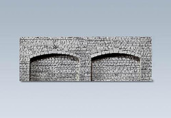 Faller Archway with Closed Wall Arches Decorative Sheet N Gauge 272594