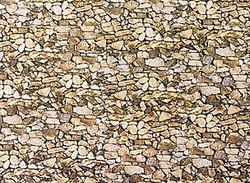 Faller Natural Stone Wall Card 250x125mm N Gauge 222562