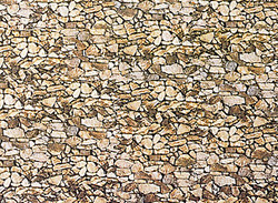 Faller Natural Stone Wall Card 250x125mm N Gauge 222562