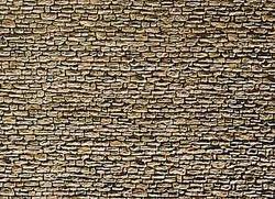 Faller Field Stone Wall Card 250x125mm N Gauge 222566
