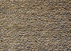 Faller Field Stone Wall Card 250x125mm N Gauge 222566