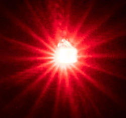 Faller Self Flashing LEDs Red (5) Multi Scale 163740