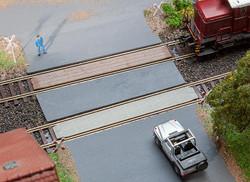 Faller Level Crossings (2) Building Kit HO Gauge 180969