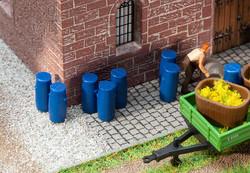 Faller Plastic Barrels (9) Building Kit HO Gauge 180970