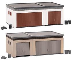 Faller Double Garages (2) Building Kit HO Gauge 180315